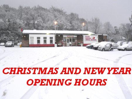 swva christmas opening hours